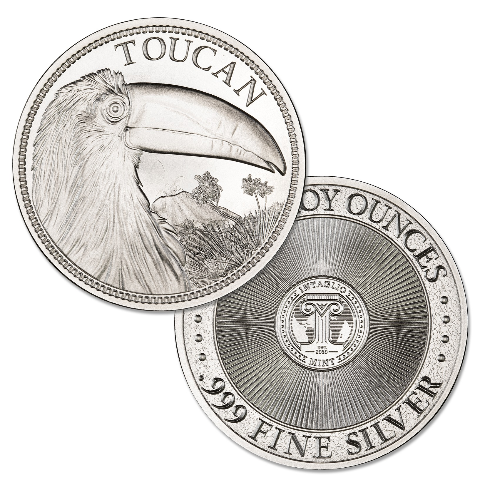 TOUCAN – 2 TROY OUNCE – 50MM