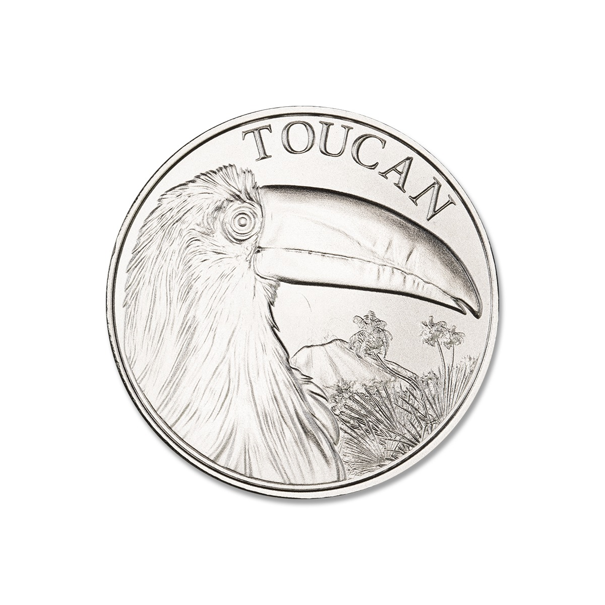 2021 TOUCAN – 1 TROY OUNCE – 39MM