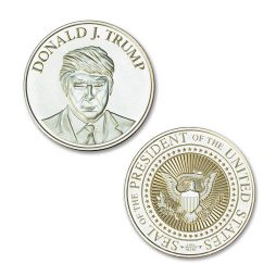 Trump Series - Presidential - 1 ozt. 39mm .999 Fine Silver Art Medal