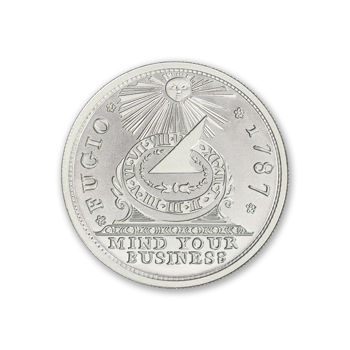 FUGIO CENT – 2 TROY OUNCE – 39MM