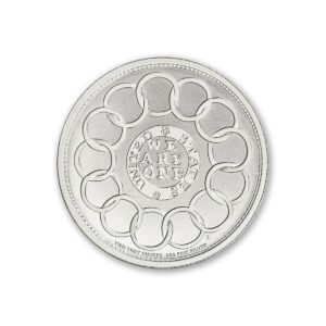 Colonial Tribute Series - The Fugio Cent - 2 ozt. 39mm .999 Fine Silver Art Medal (6mm Thick)