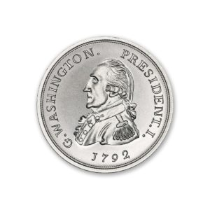Colonial Tribute Series - Getz Washington - 2 ozt. 39mm .999 Fine Silver Art Medal (6mm Thick)
