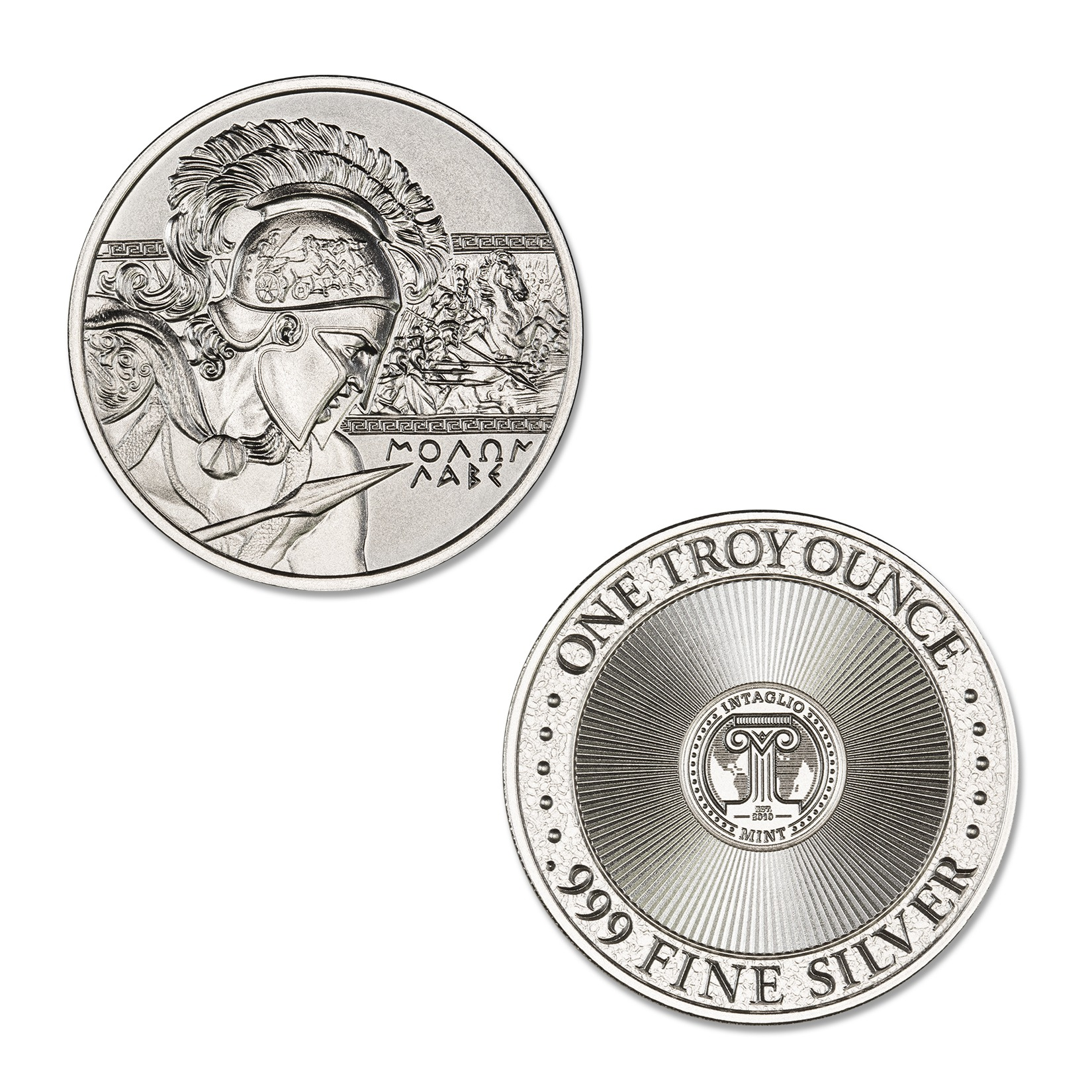 MOLON LABE – 1 TROY OUNCE – 39MM