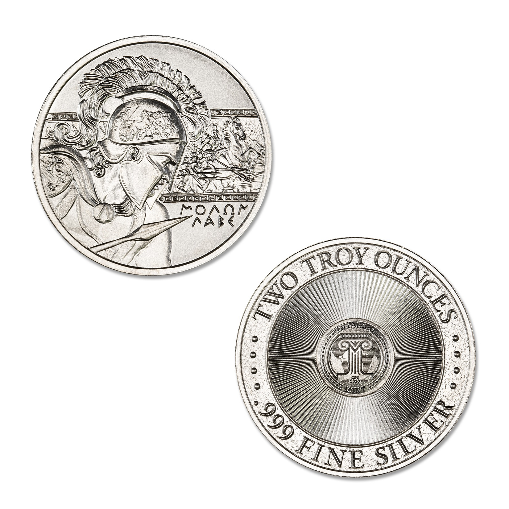 MOLON LABE – 2 TROY OUNCE – 39MM