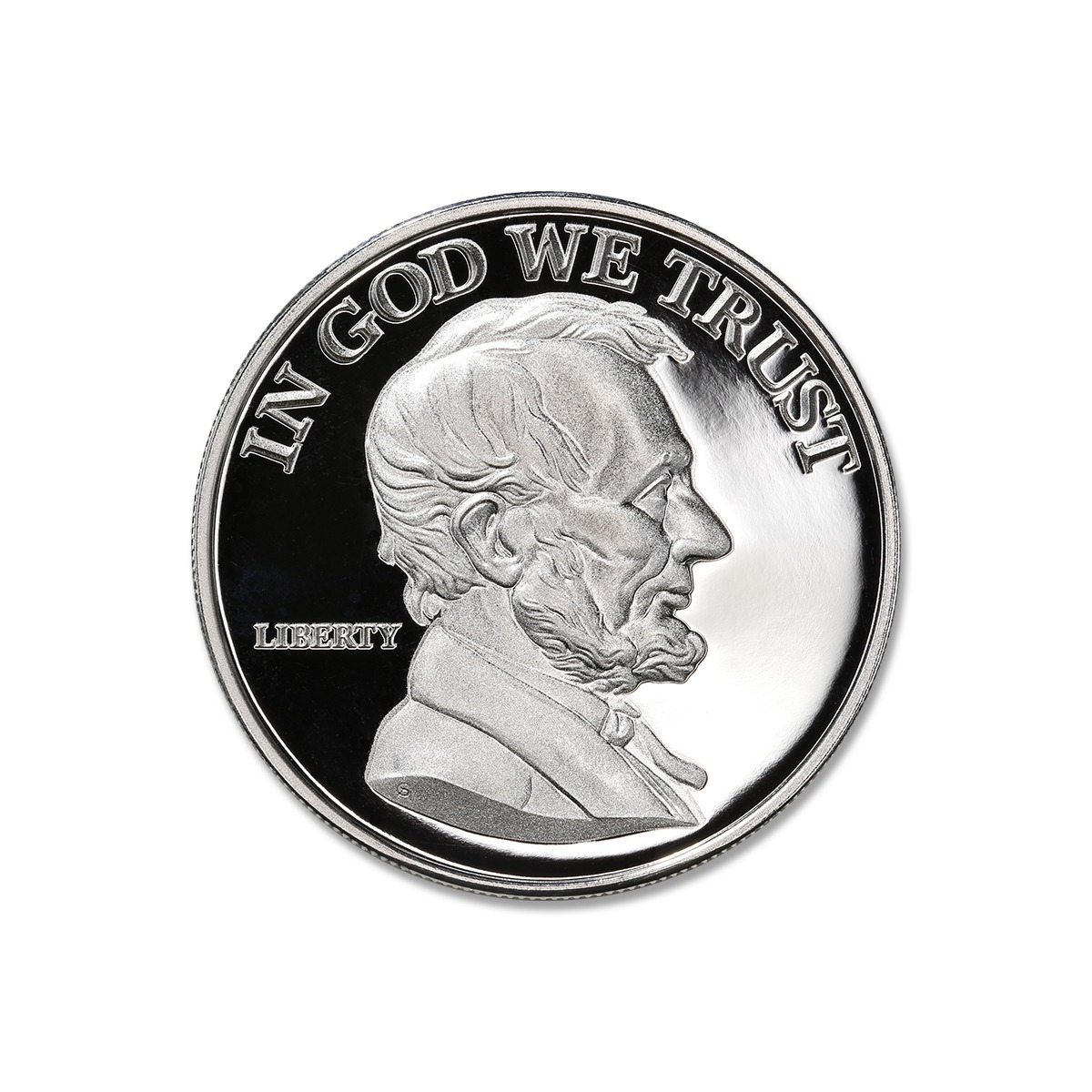 LINCOLN – 1 TROY OUNCE – 39MM – PROOF (ONLY 300 MINTED!)