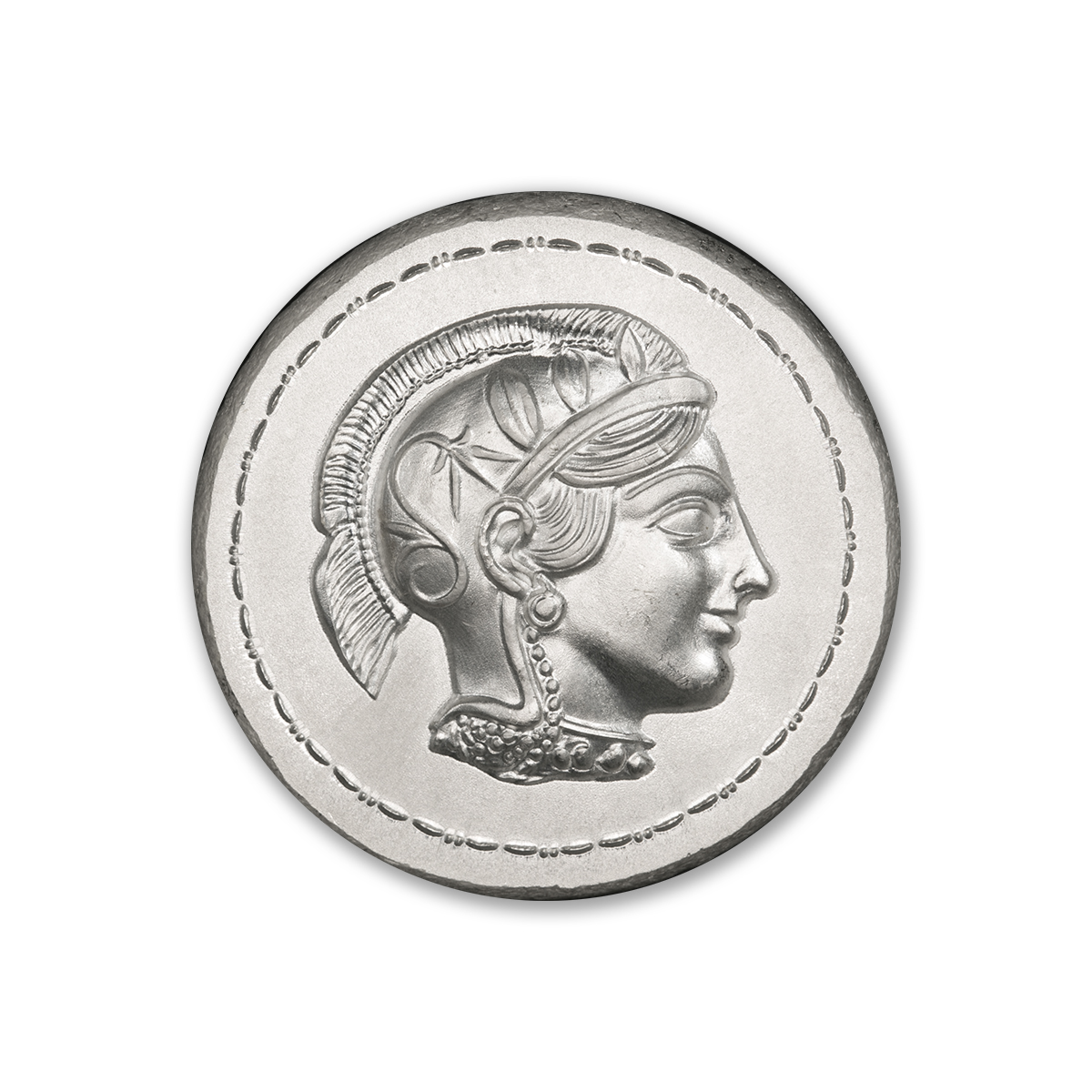 ATHENA AND OWL TETRADRACHM – UHR – 2 TROY OUNCE – 36MM – (LIMITED MINTAGE: 1,000)