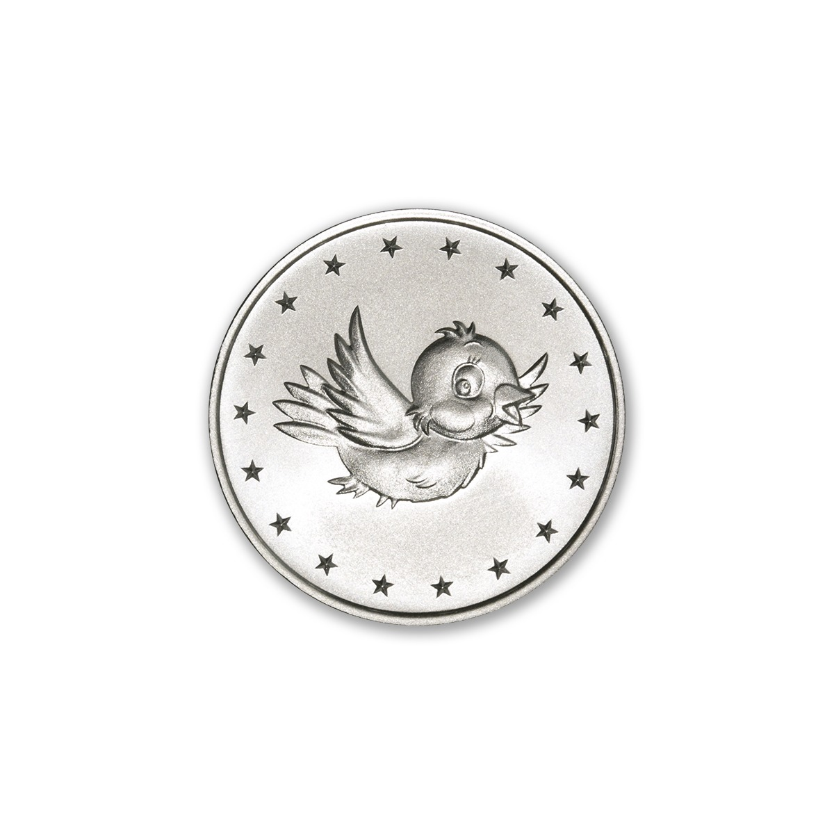 "2018 MINT MARKERS® – ""BIRDIE"" – 1/2 TROY OUNCE – 30MM (ONLY 1,000 MINTED)"