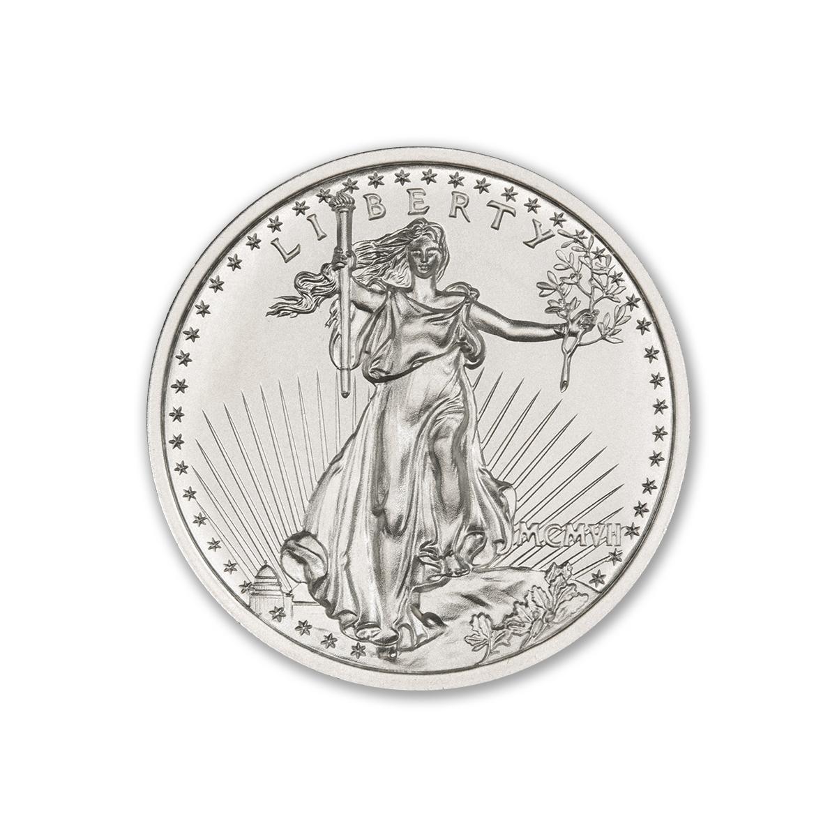 $20 SAINT-GAUDENS – HIGH RELIEF – 2 TROY OUNCE – 39MM
