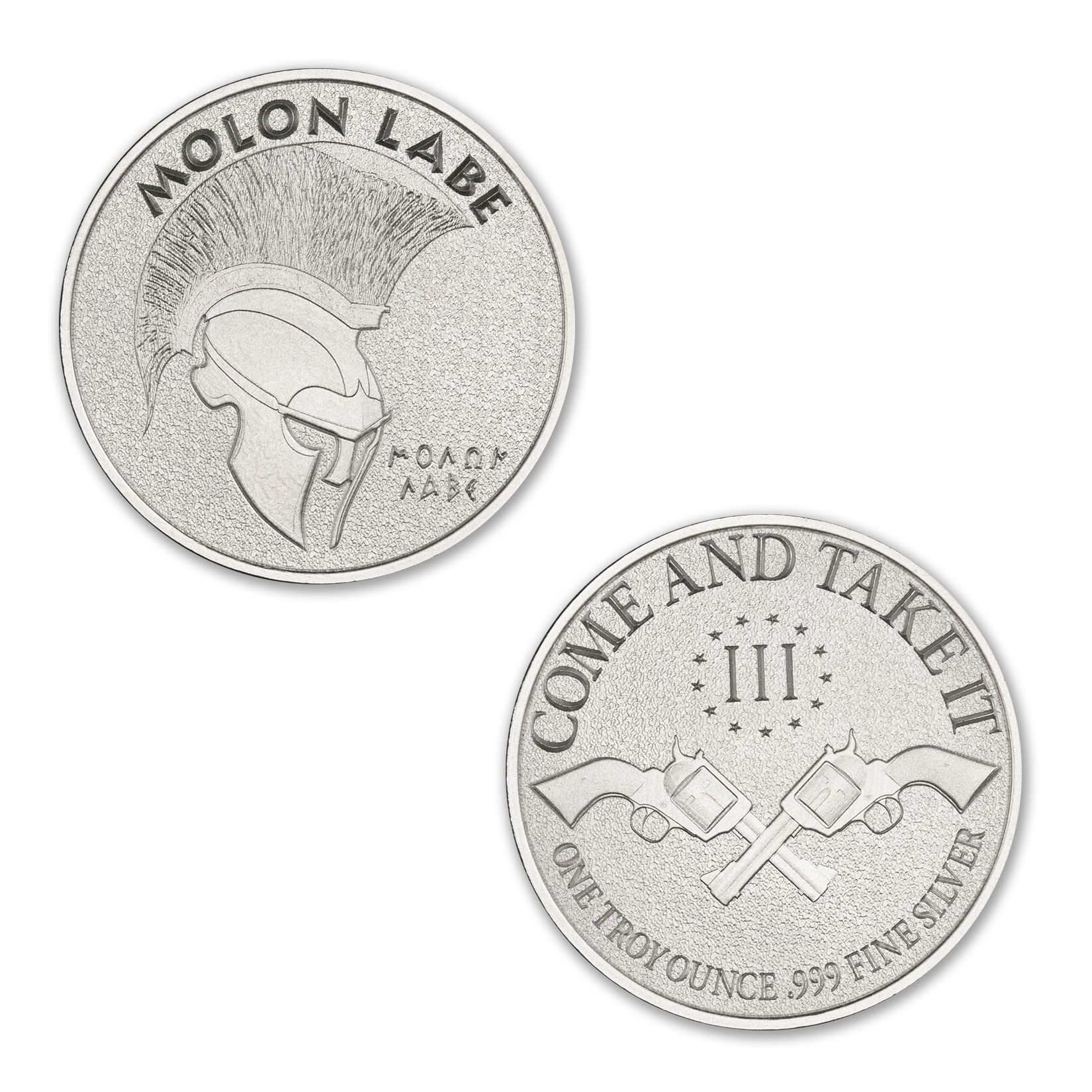CLASSIC MOLON LABE, COLTS – 1 TROY OUNCE – 39MM