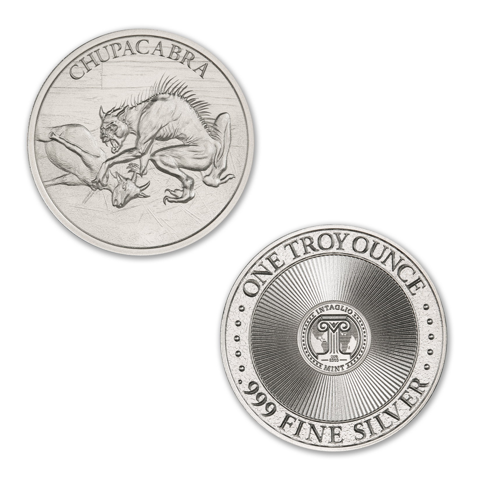 CHUPACABRA – 1 TROY OUNCE – 39MM