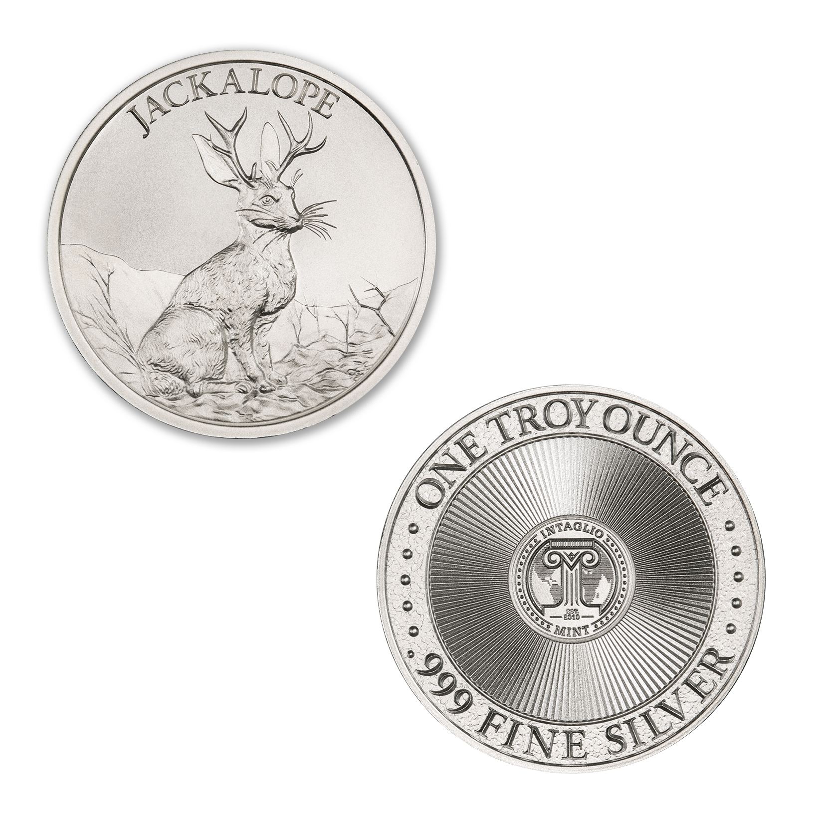 JACKALOPE – 1 TROY OUNCE – 39MM
