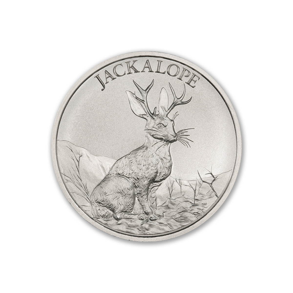 JACKALOPE – 2 TROY OUNCE – 39MM