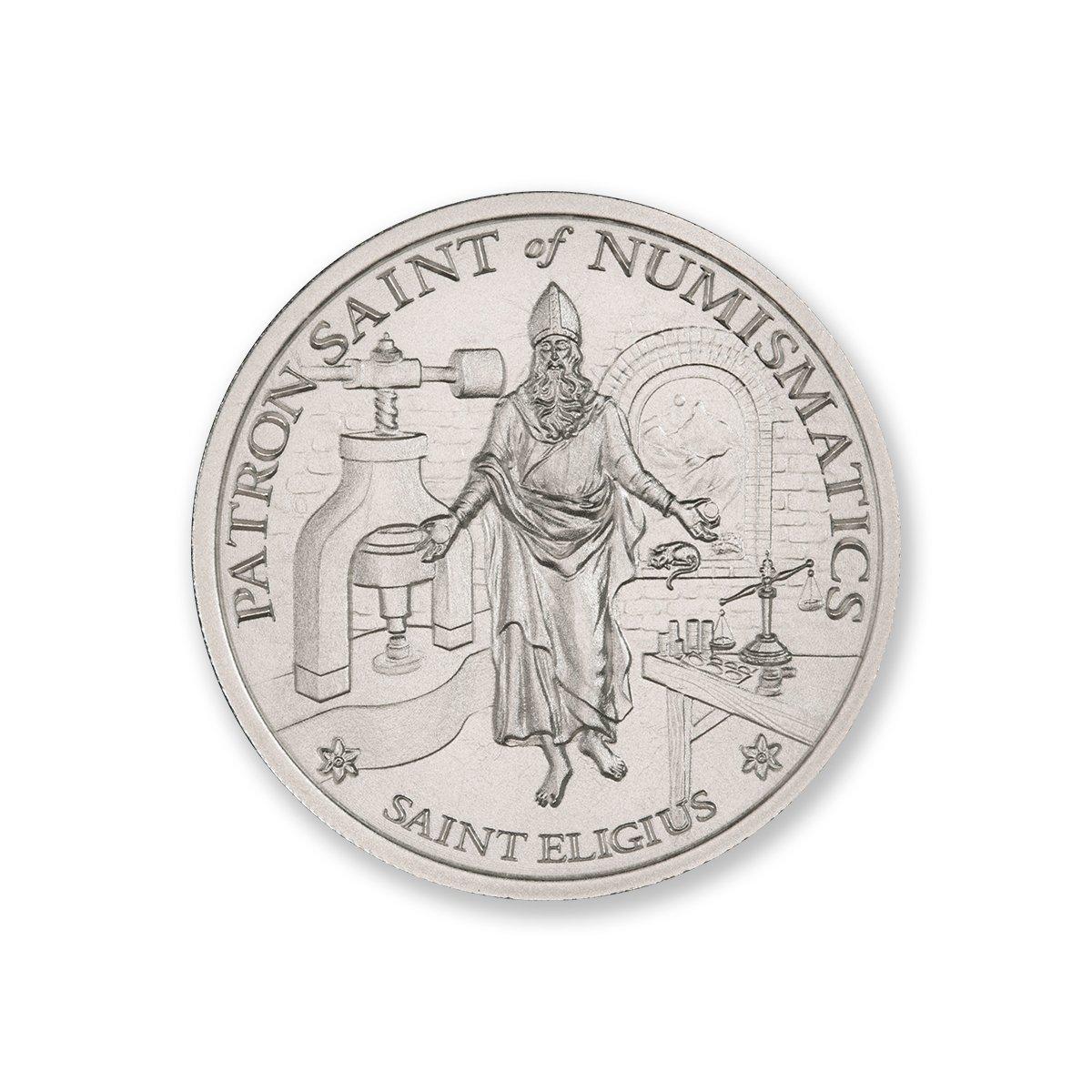 SAINT ELIGIUS – 2 TROY OUNCE – 39MM