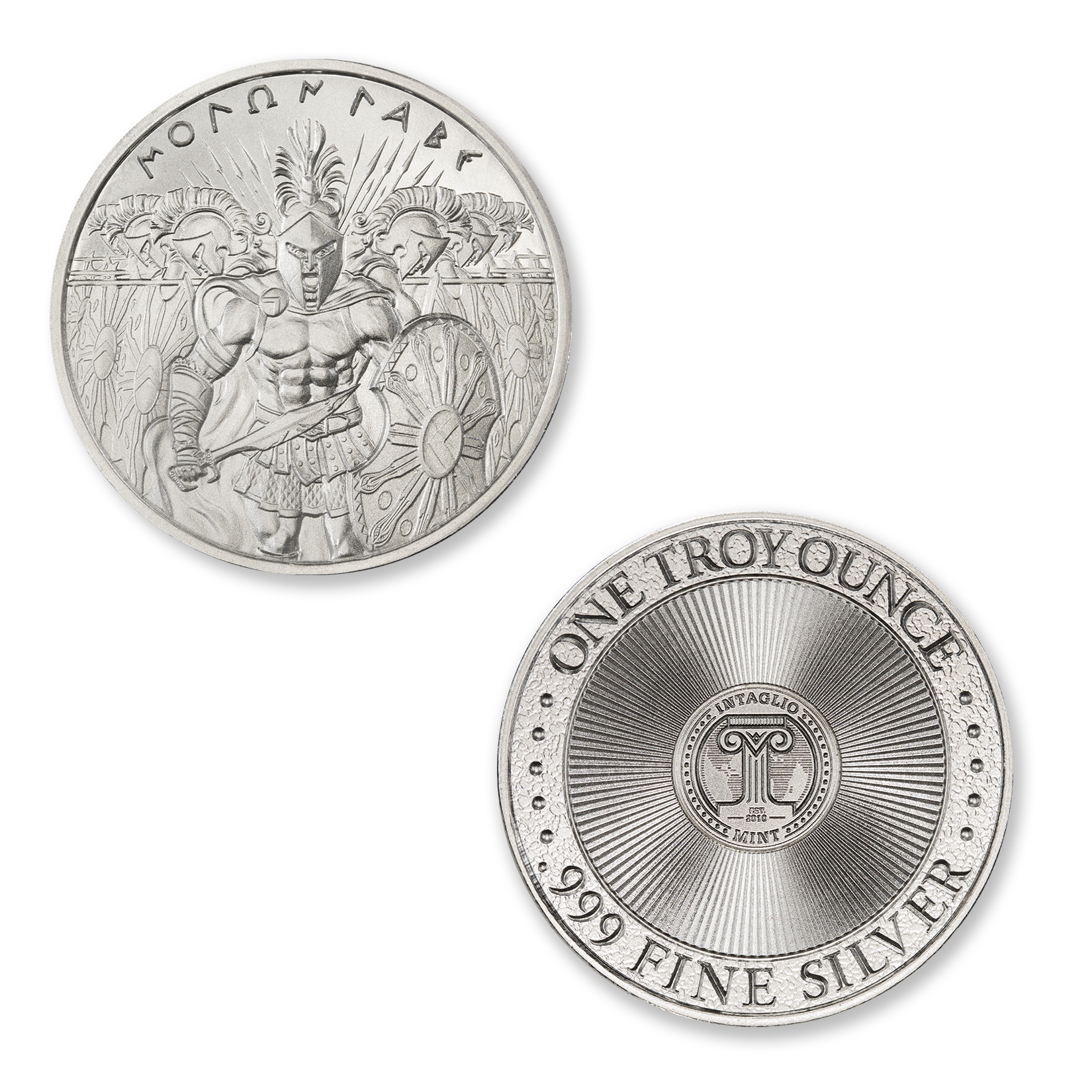 MOLON LABE – TYPE II – 1 TROY OUNCE – 39MM