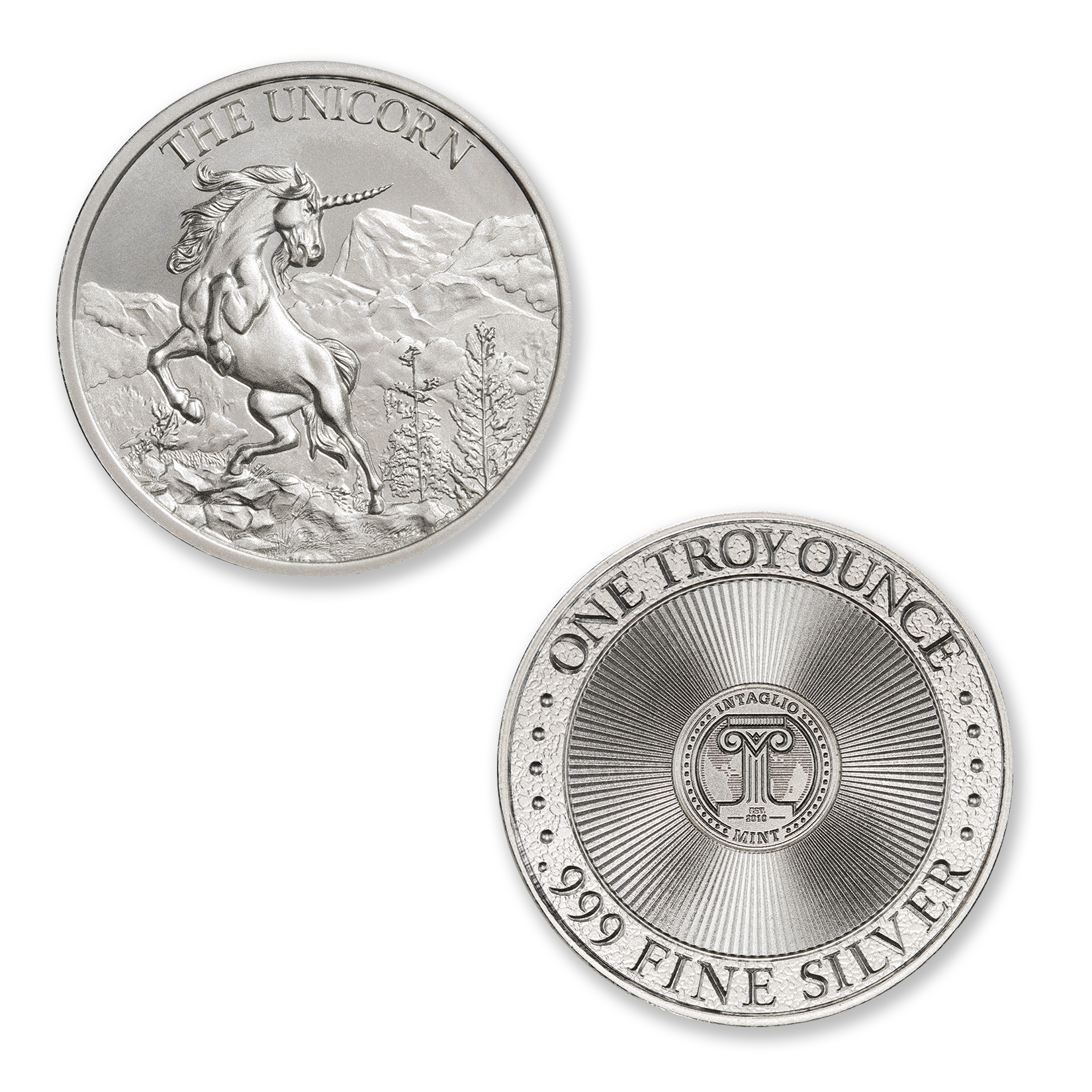 THE UNICORN – 1 TROY OUNCE – 39MM