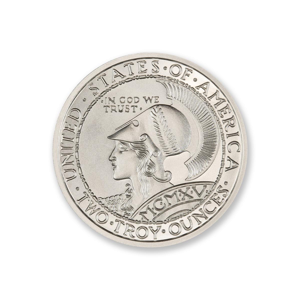 2 oz .999 Fine Silver San Francisco Panama Pacific Exposition Minerva /& Owl Coin