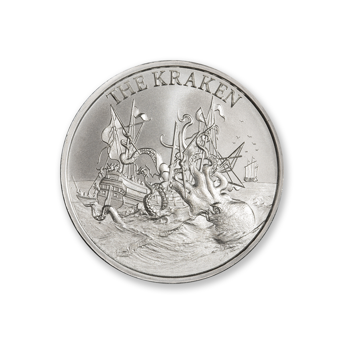 THE KRAKEN – 1 TROY OUNCE – 39MM