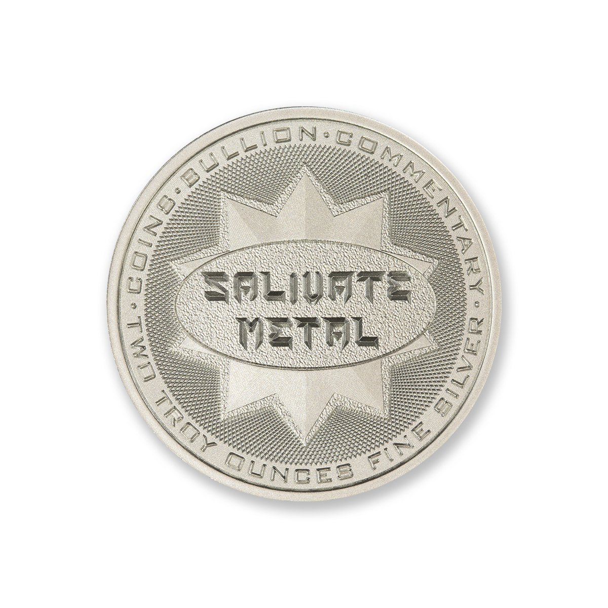 SALIVATE METAL – 2 TROY OUNCE – 39MM