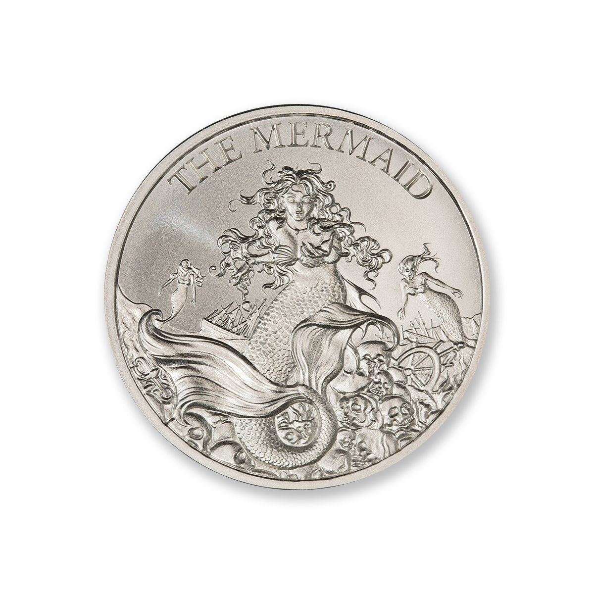 THE MERMAID – 1 TROY OUNCE – 39MM