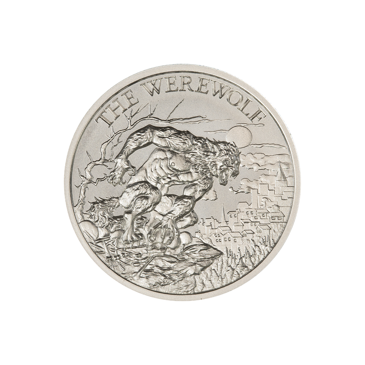 THE WEREWOLF – 1 TROY OUNCE – 39MM