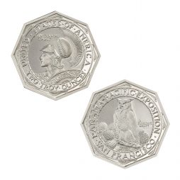 PAN-PAC OCTAGONAL TRIBUTE – 2 TROY OUNCE – 42MM
