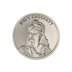 DAVY CROCKETT – 2 TROY OUNCE – 39MM