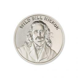 WILD BILL HICKOK – 2 TROY OUNCE – 39MM