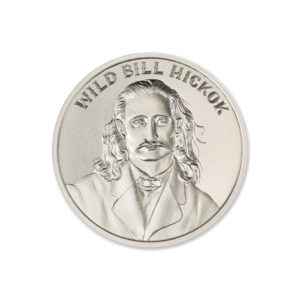 WILD BILL HICKOK – 1 TROY OUNCE – 39MM