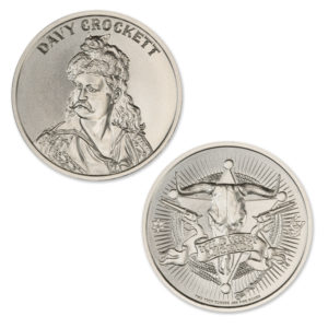 DAVY CROCKETT – 2 TROY OUNCE – 39MM