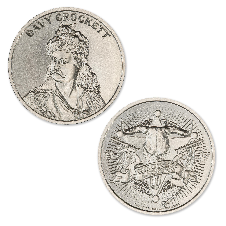 Davy Crockett 2 Troy Ounce 39mm