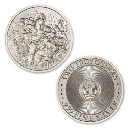MOLON LABE – TYPE V – 2 TROY OUNCE – 39MM