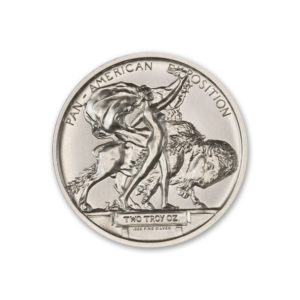 PAN-AM BUFFALO MEDAL TRIBUTE – 2 TROY OUNCE