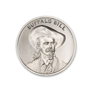 BUFFALO BILL – 2 TROY OUNCE – 39MM