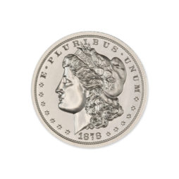 1878 MORGAN DOLLAR TRIBUTE – 2 TROY OUNCE – 39MM