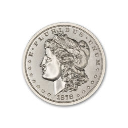 1878 CC MORGAN DOLLAR TRIBUTE – 2 TROY OUNCE – 39MM