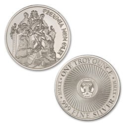PECUNIA NON OLET (MONEY DOES NOT STINK) – 1 TROY OUNCE – 39MM