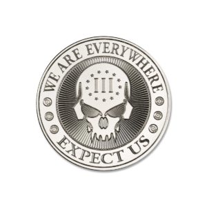 2021 – DEUCE FOUR SKULL – 2 TROY OUNCE – 39MM