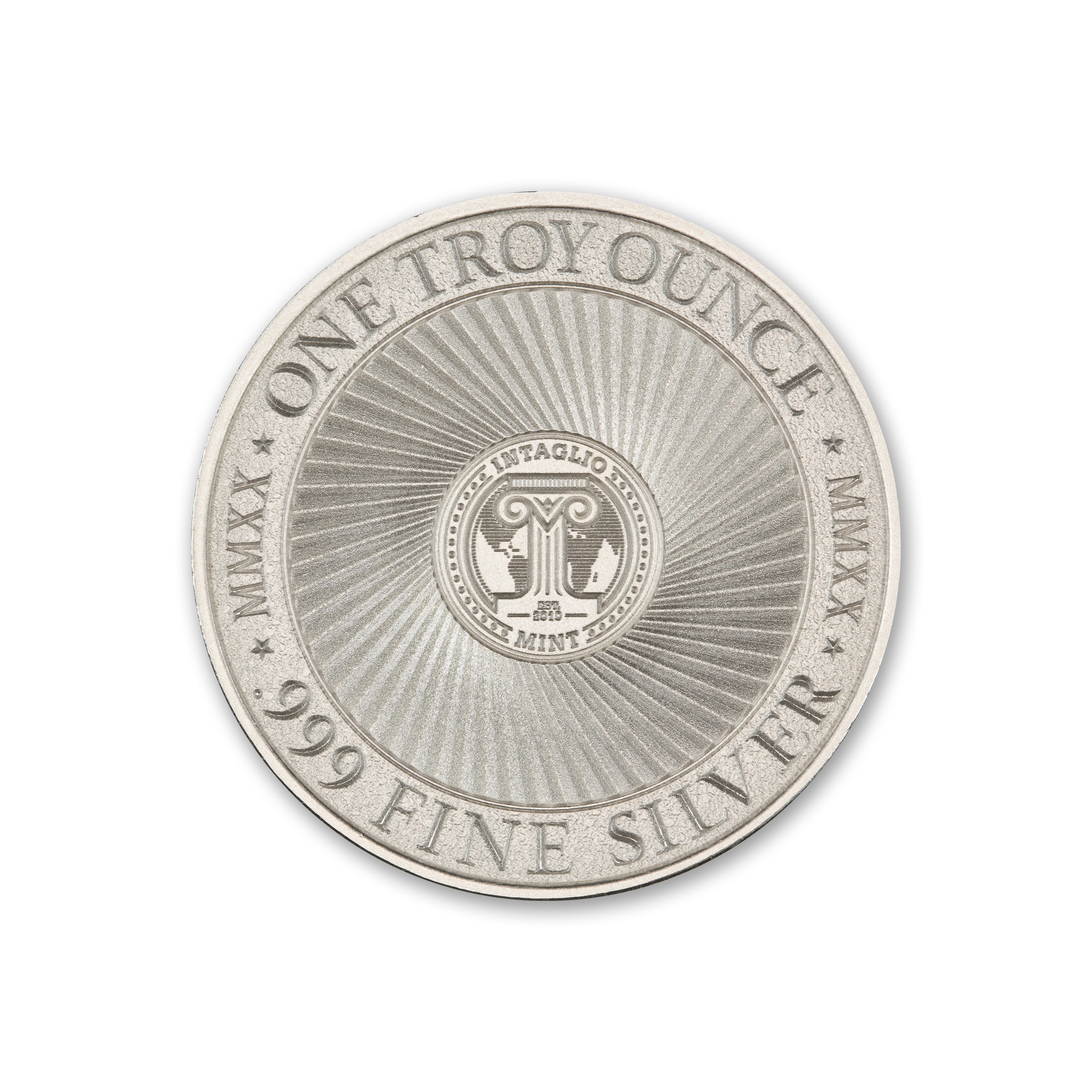 2020 – MOLON LABE – TYPE V – 1 TROY OUNCE –  39MM