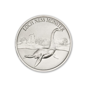 2021 – LOCH NESS MONSTER – 2 TROY OUNCE – 39MM