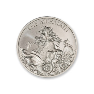 2021 – THE MERMAID – 1 TROY OUNCE – 39MM