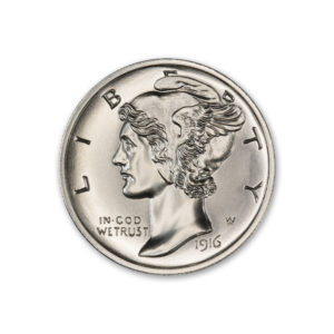 THE MULE CLUB – ISSUE #1 – MERCURY DIME OBVERSE / BUFFALO NICKEL REVERSE – 2 TROY OUNCE – 39MM – LIMITED MINTAGE OF 100