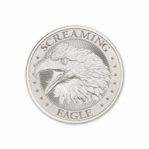 2021 – SCREAMING EAGLE – HIGH RELIEF – 1 TROY OUNCE – 39MM