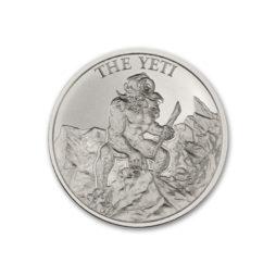 2020 – THE YETI – 1 TROY OUNCE – 39MM