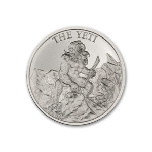 2020 – THE YETI – 2 TROY OUNCE – 39MM
