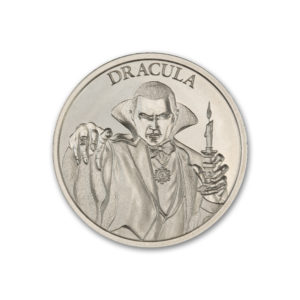 DRACULA – VINTAGE HORROR SERIES – 2 TROY OUNCE – 39MM