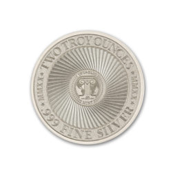 PECUNIA NON OLET (MONEY DOES NOT STINK) – 2 TROY OUNCE – 39MM