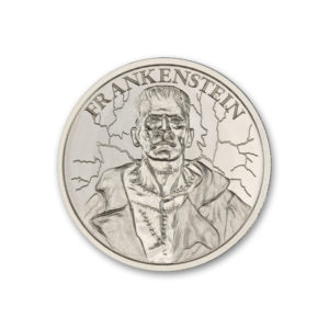 FRANKENSTEIN – VINTAGE HORROR SERIES – 1 TROY OUNCE – 39MM