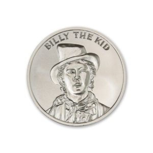 BILLY THE KID – 2 TROY OUNCE – 39MM