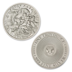 2020 – MOLON LABE – TYPE VII – 1 TROY OUNCE – 39MM