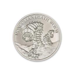 2020 – MONGOLIAN DEATH WORM – 2 TROY OUNCE – 39MM